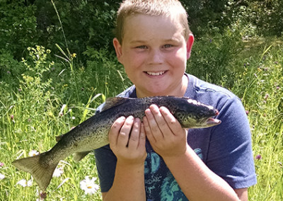 Guided Fishing for Kids