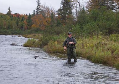 fly fishing in moosehead