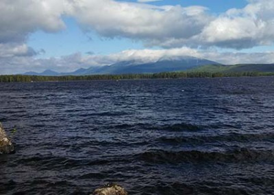 katahdin clouds maine