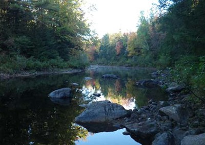 sebago maine stream fishing